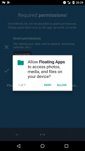 Floating Apps for Auto - MirrorLink