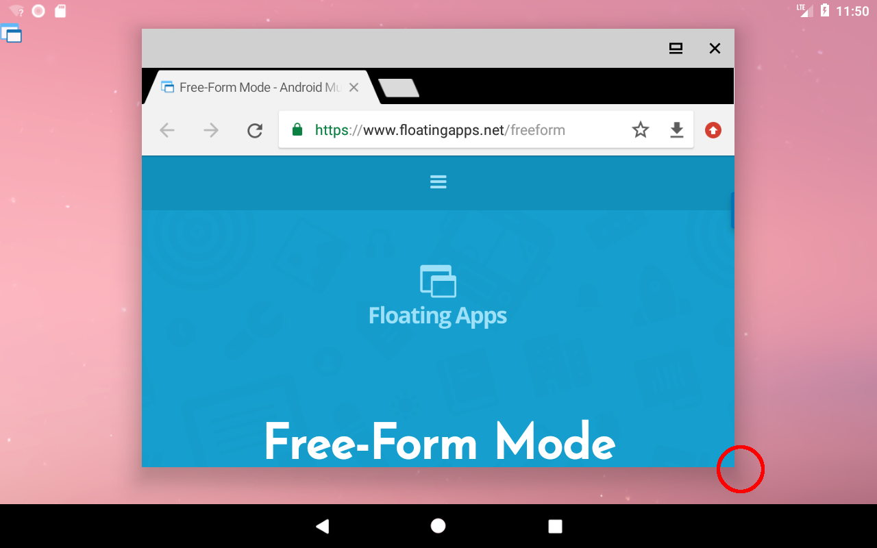 How to float installed apps with freeform mode? – Floating Apps