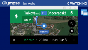Google Maps and Waze with Floating Apps for Auto