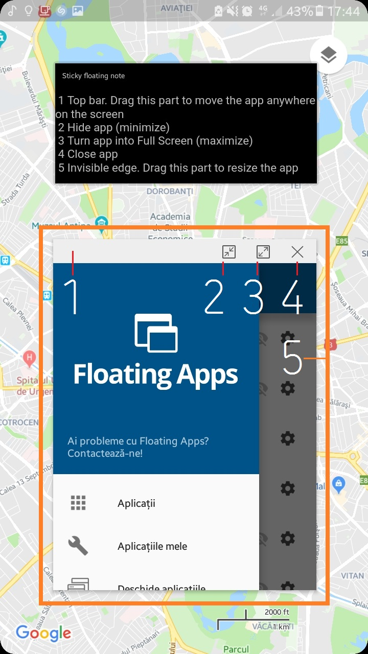 Pop Up View for all Samsung phones with Floating Apps – Floating Apps