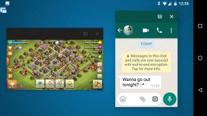 Floating WhatsApp and Clash of Clans!