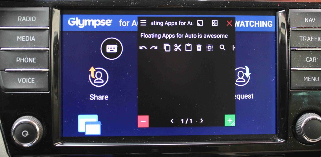 Floating Apps for Auto QA: Using floating apps in your car