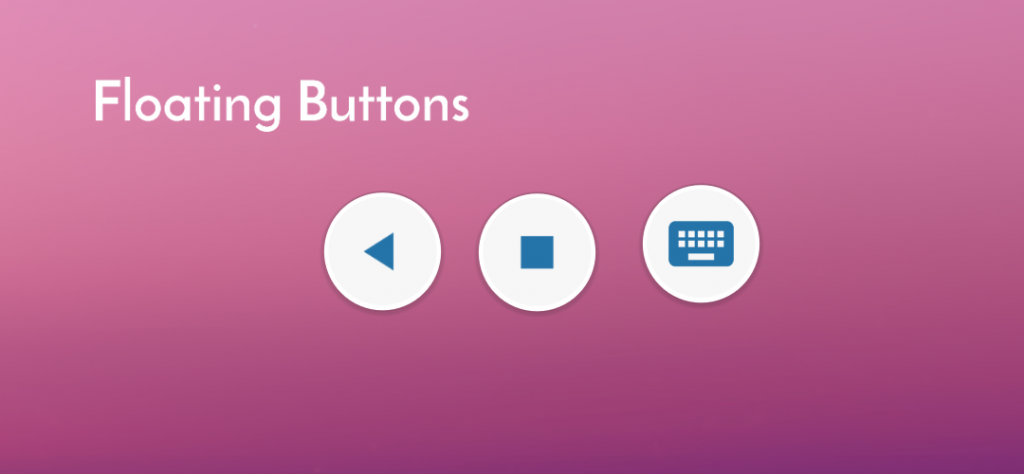 Floating Apps for Auto: Here go floating buttons!
