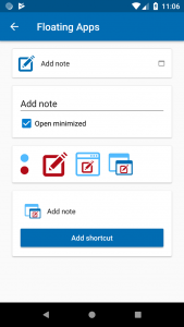 All about the new configurable shortcut