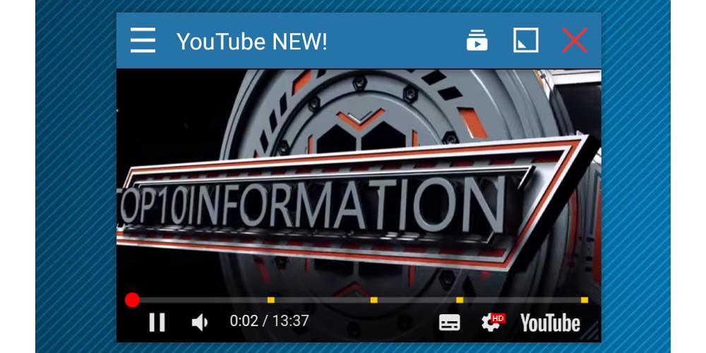 Version 4.6: New YouTube app!