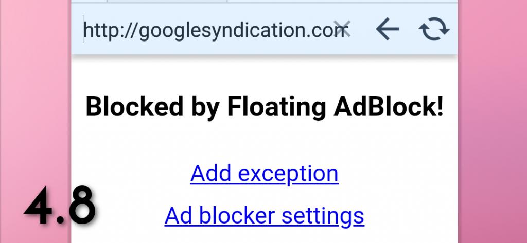 Floating AdBlock