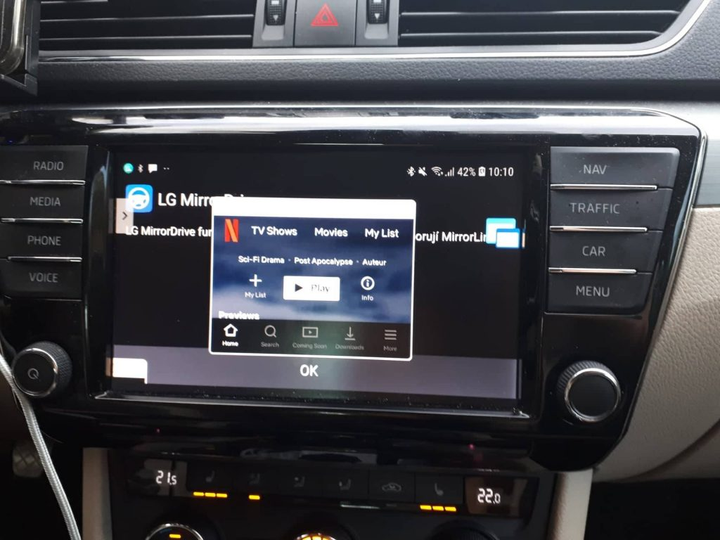 NETFLIX in your car? No problem! – Floating Apps