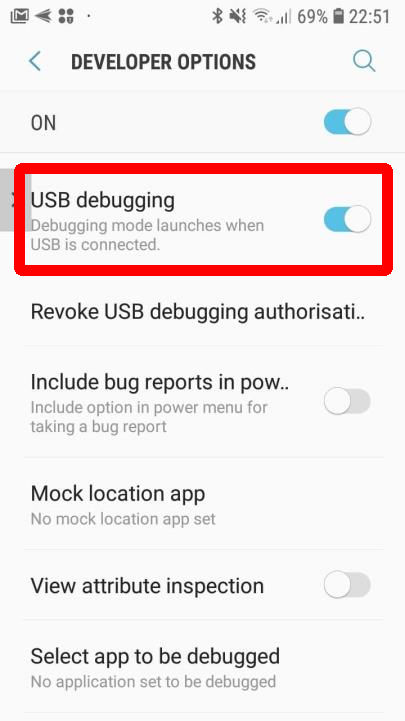 Enabling the free-form mode for Samsung Galaxy S and Note with